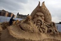 Фестиваль песчаных скульптур в Великобритании