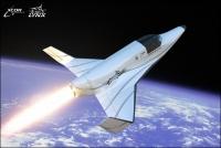 Космический самолет проходит испытания