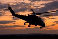 Вертолетное шоу в Чехии