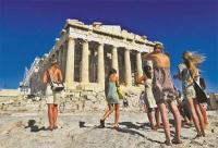 В Грецию прибыло рекордное число иностранных туристов
