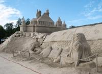 Смартфон лучший гид  для песочного замка в Финляндии