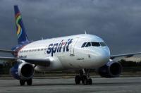 Американский лоукостер Spirit Airlines подает вино в банках