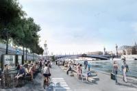 В Париже появилась пешеходная набережная
