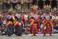 Красочные фестивали пройдут в Бутане в сентябре