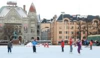 Зимний сезон открыт в лыжном комплексе Хельсинки