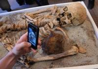 Останки очередного вампира были найдены в Болгарии