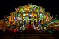 Фестиваль света проходит в Берлине