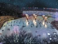 Первый в сезоне каток открылся в Москве