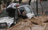 На острове Родос сильнейшее наводнение