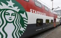 Starbucks открылся в железнодорожном вагоне