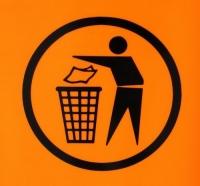 Мадрид усыпан мусором