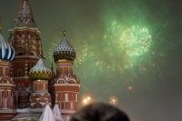 Новогодний салют в Москве перенесен на час вперед