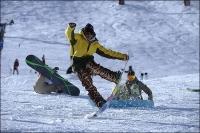 Снежный фестиваль в Инсбруке