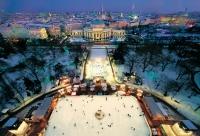 Большой каток открылся в центре Вены