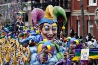 Ежегодный карнавал в Новом Орлеане