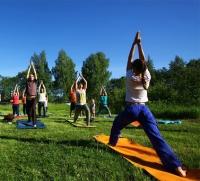 В центре Парижа можно бесплатно заняться фитнесом
