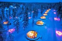 В Швейцарии открылись ледяные отели