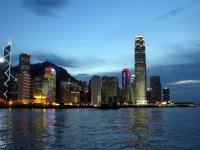 Порт Виктория в Гонконге