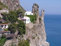 Деревня Фуроре в Италии