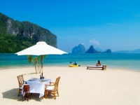 Пляжи с белым песком