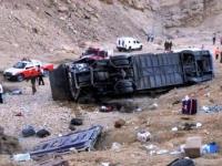В Египте произошло ДТП с полным автобусом туристов