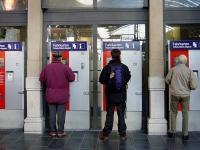 Немецкие билетные автоматы взрываются