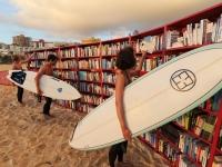 В Тель-Авиве открылась пляжная библиотека