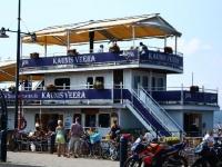 Зимнее судно-ресторан появилось в Лахти