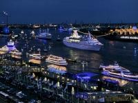 Гамбургский порт отмечает 825-й День рождения