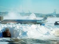 Восток США пострадал от сильной снежной бури