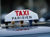 Забастовка таксистов в Париже