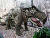 Выставка динозавров в Вене
