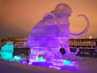 Фестиваль ледяных скульптур в Хельсинки