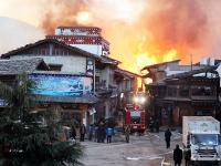 Пожар уничтожил древний тибетский город