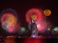 Новогодний фейерверк в Дубаи попал в книгу рекордов Гиннеса