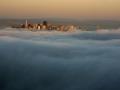 Фото городов в облаках