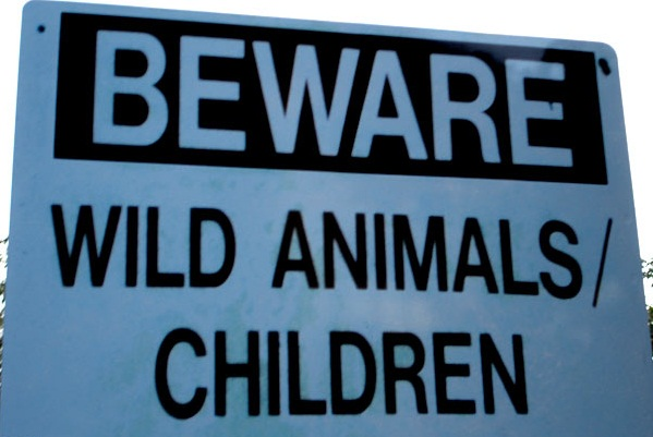 Beware-of-Wild-Animals-and-Children